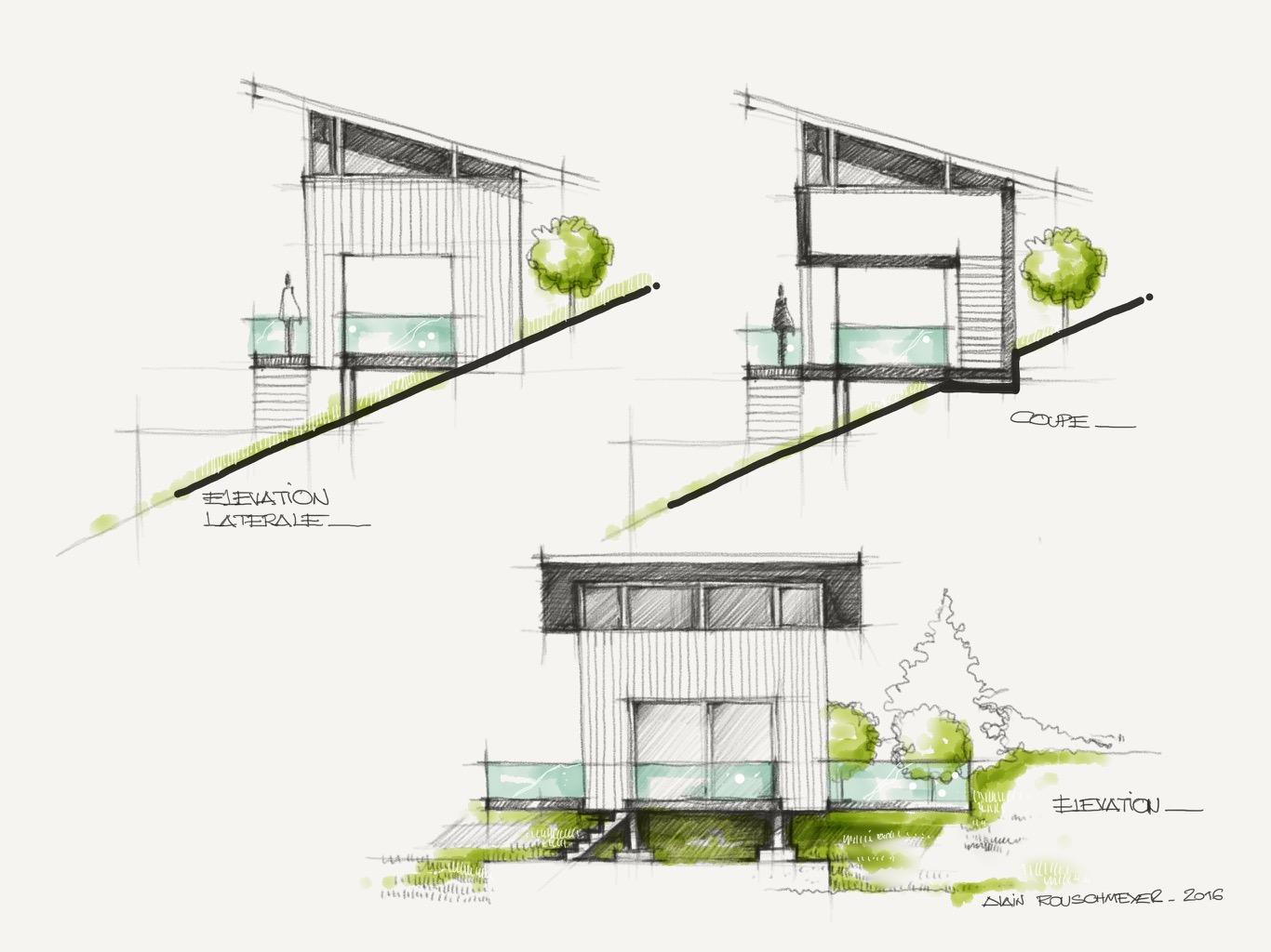 croquis maison simple awesome dessin de fleur facile dedans dessins facile meilleure. Black Bedroom Furniture Sets. Home Design Ideas